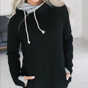 ampersand Ave double hoodie